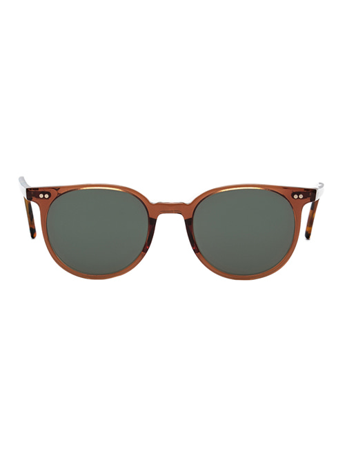 AMBLER Sunglasses - Cognac / Brown Havana Temple